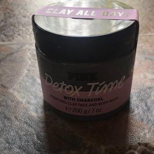 Victoria Secret charcoal clay mask